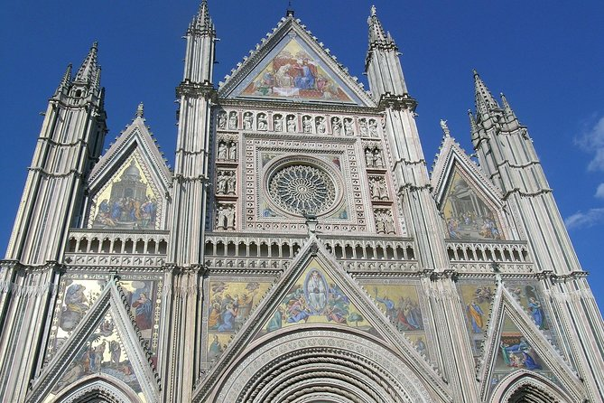 Wine, Orvieto and Montepulciano Private Day Trip from Rome By Car
