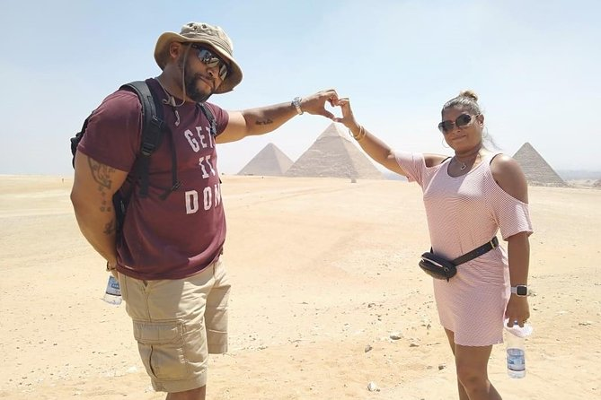 Full-Day Tour:Giza Pyramids Sphinx Memphis and Sakkara from Cairo