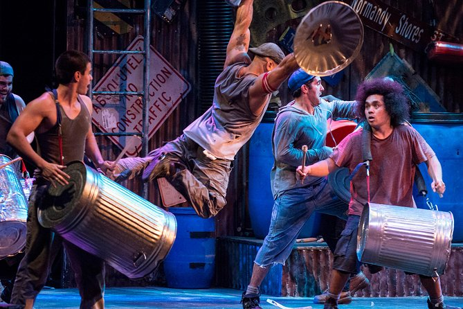 STOMP Off-Broadway Ticket