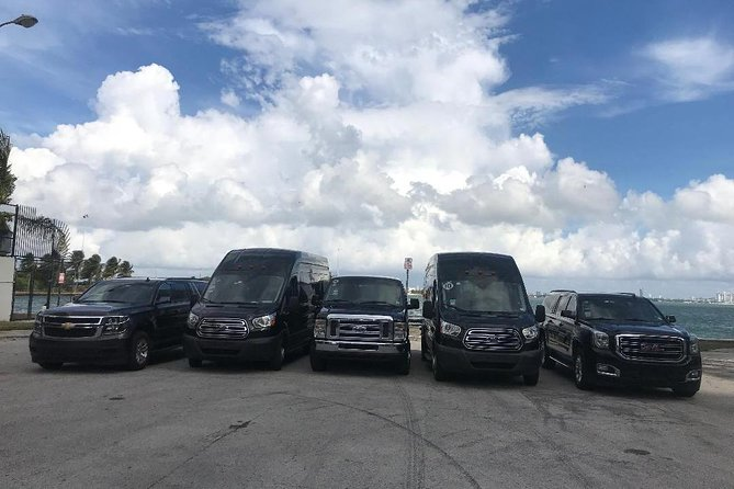 Private Van FROM Ft. Lauderdale TO Port of Miami / Miami Hotels