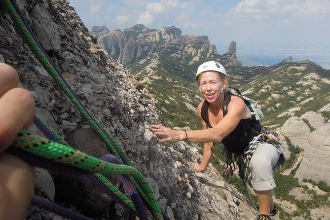 Full-day Guided Rock Climbing Trip in Montserrat, Barcelona photo 3