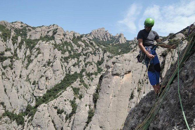 Full-day Guided Rock Climbing Trip in Montserrat, Barcelona photo 4