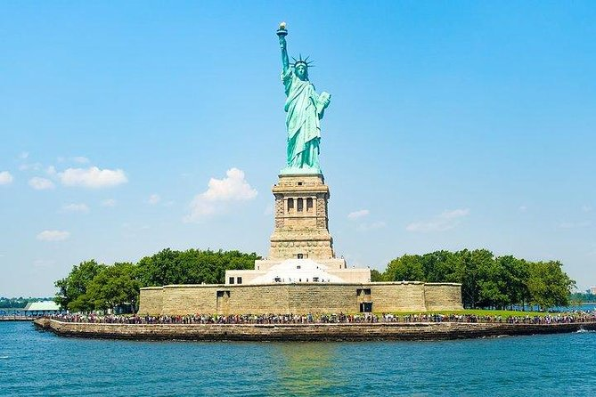 From Staten Island: Statue of Liberty Tour with Pedestal Access and Ellis Island
