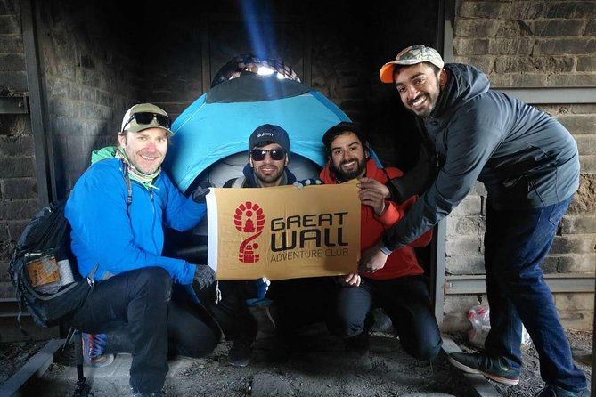 Flat-rate Great Wall Camping with Full-day Great Wall Group Hiking