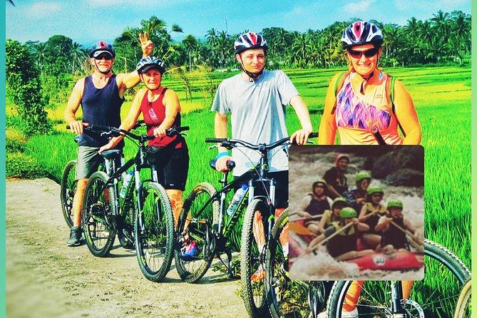 Ubud downhill Cycling and Bali White Water Rafting