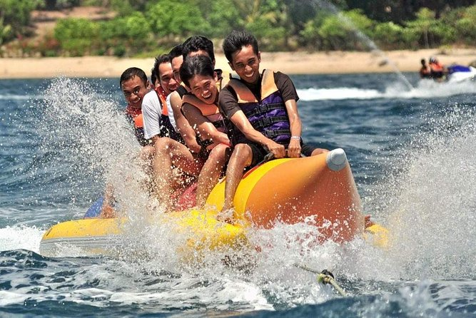 Snorkeling, Flying Fish & Banana Rafting Experience In Tanjung Benoa