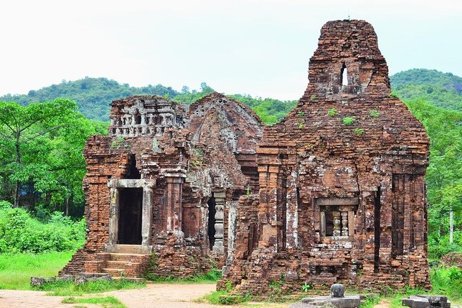 Private My Son Sanctuary and Marble Mountain Day Trip from DA NANG CITY