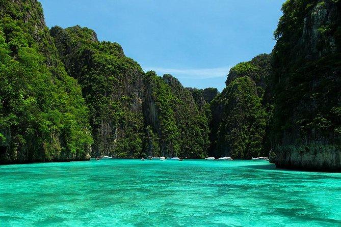 Maya Bay, Monkey Bay, Bamboo and Phi Phi Island Snorkeling Tour from Krabi