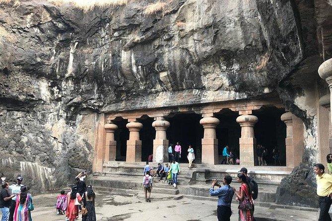 De Mumbai: excursão de dia inteiro às cavernas de Elephanta