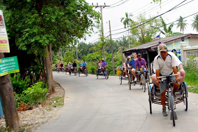 Rickshaw and Hiking Bangkok's Green Lung