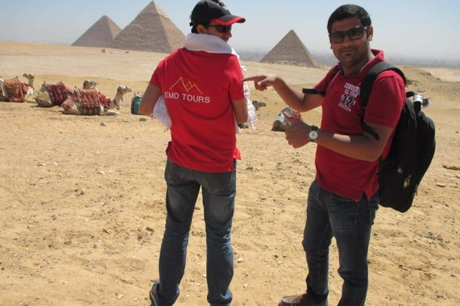 Private Day Trip to Egyptian Pyramids, Saqqara and Dahshur with Camel Ride