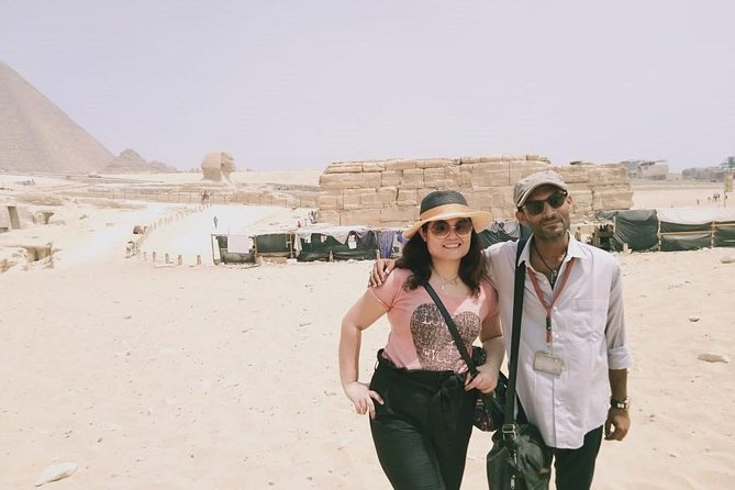 Full-Day trip Cairo: Giza Pyramids, Sphinx, Memphis and Sakkara