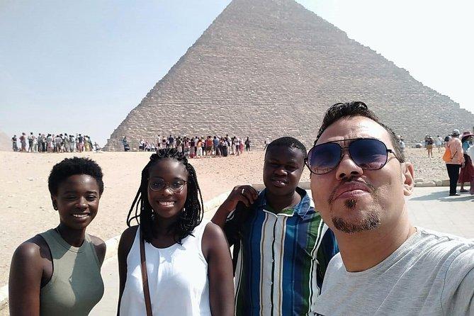 full-day to Giza pyramids, Saqqara ,Memphis and Dahshour true and bent pyramids