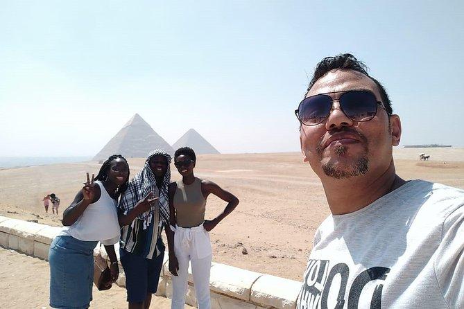 full-day Giza pyramids, sphinx ,Memphis old city & Step pyramids of Sakkara