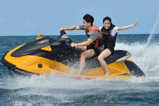 Bali water sport package: Tandem Parasailing, Dive Walk, Fly Fish and Jet Ski photo 3