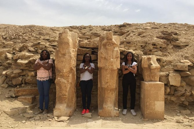 Private Tour: Giza Pyramids, Sphinx, Memphis, Saqqara photo 7