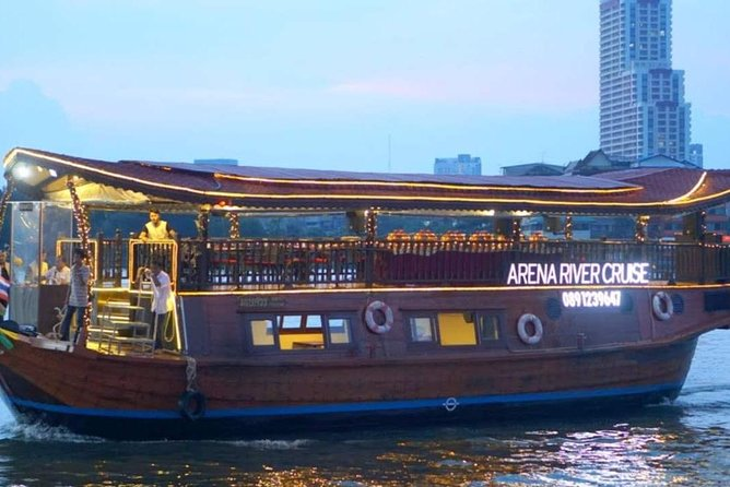 Arena River Cruise Bangkok with Buffet Dinner and Hotel Pick Up and Drop Off photo 1