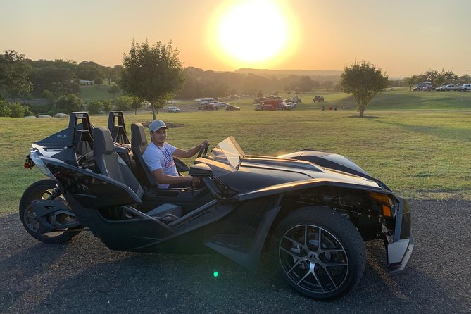 Texas Hill Country Tours in a Polaris Slingshot