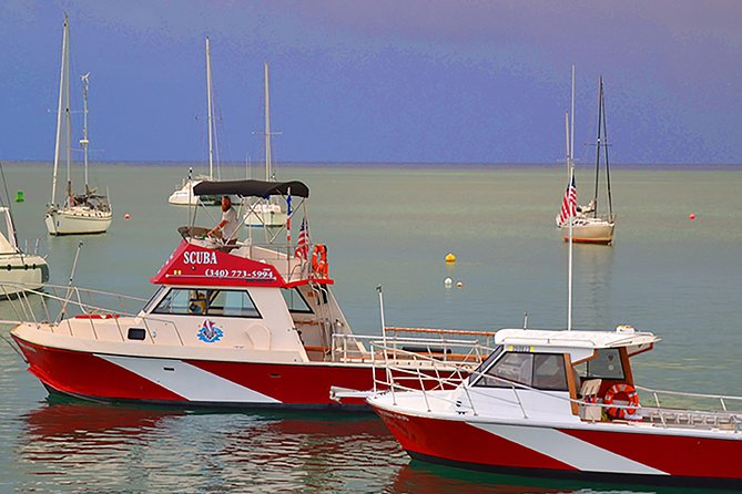 Two custom dive boats, inspected and certificated by the U.S. Coast Guard