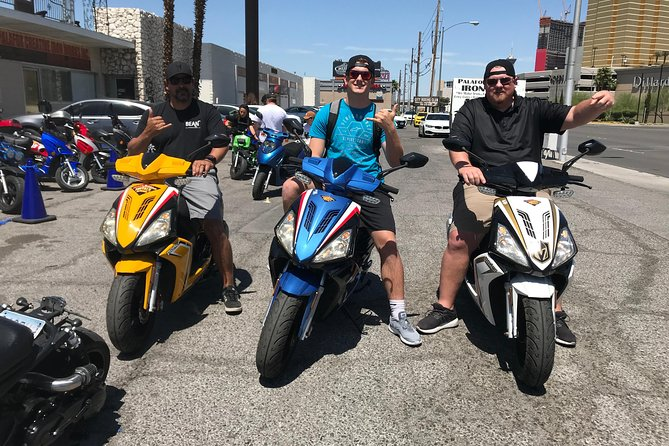 Explore Vegas on a 150cc Scooter All Day Rental