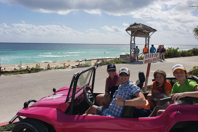 Customizable Private Buggy Tour in Cozumel with Lunch and Snorkel