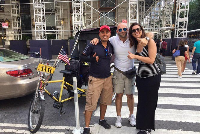 Deluxe Pedicab Adventure through Central Park NYC