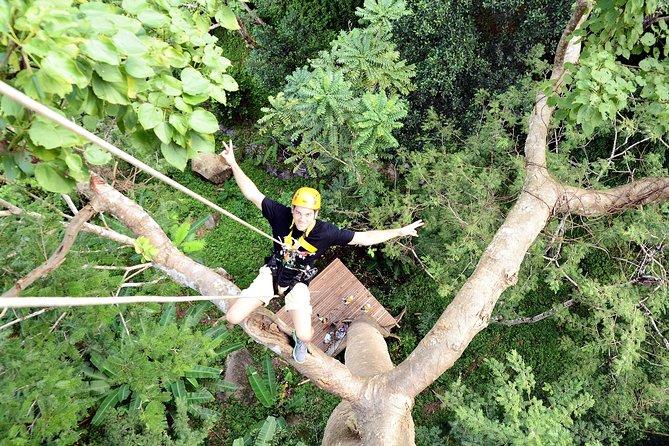 Half Day Flying Zipline from Phuket