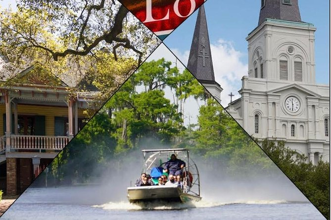 New Orleans City Tour with Swamp Tour Options
