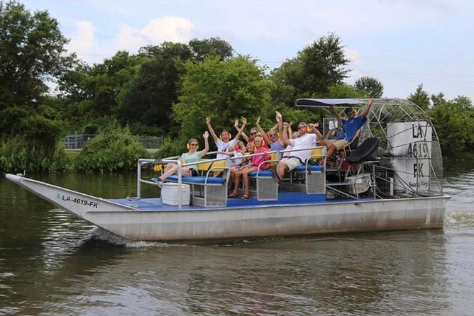New Orleans Large Airboat Swamp Tour