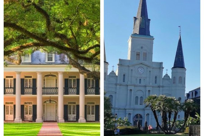 Oak Alley Plantation and 3-Hour New Orleans City Tour