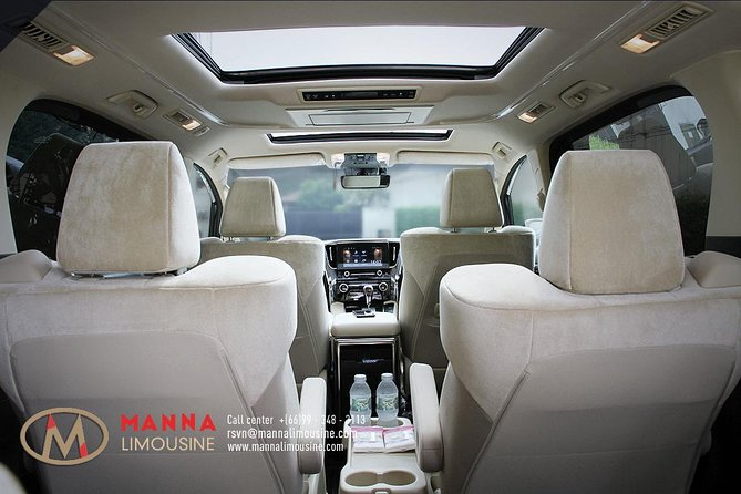 Bangkok Airport Limousine: New Toyota Alphard (To Airport) photo 10