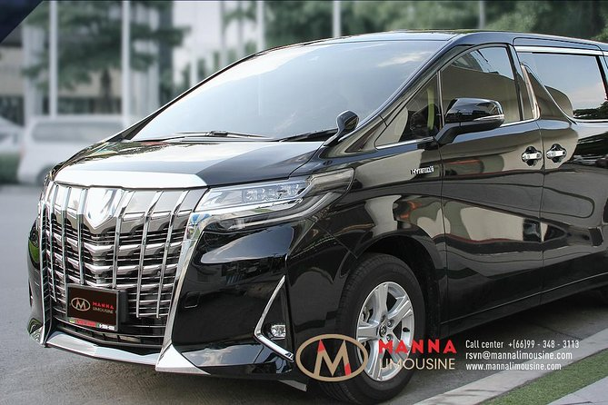 Bangkok Airport Limousine: New Toyota Alphard (To Airport) photo 17