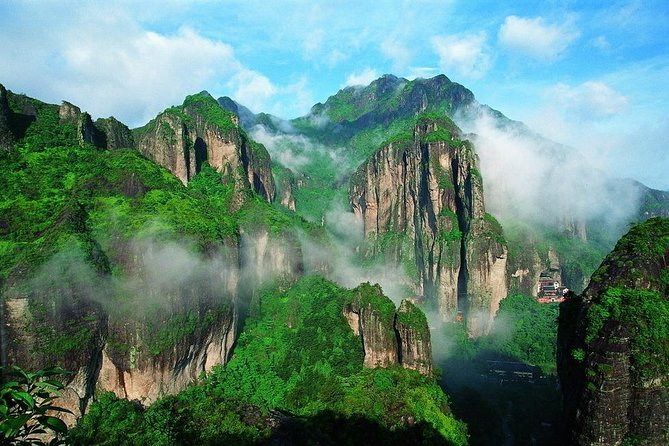 One day private tour to Wenzhou Yandang Mountain World Geopark with Lunch