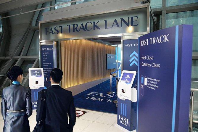 Guided Fast-Track Immigration Service: Bangkok Suvarnabhumi Airport