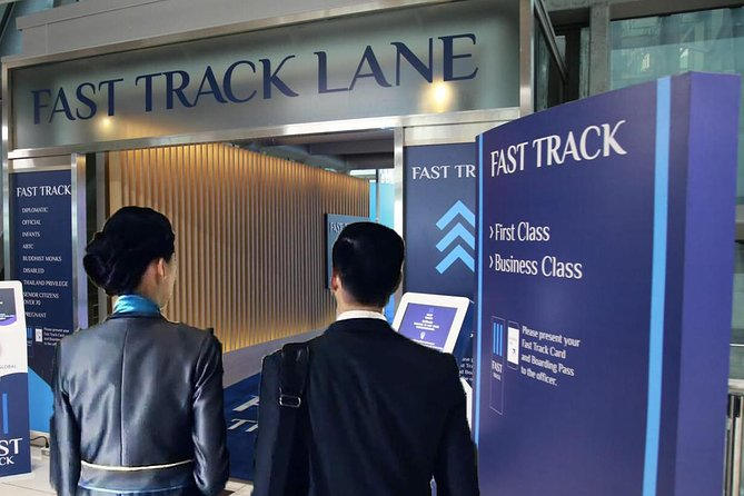 Guided Fast-Track Immigration Service: Phuket International Airport