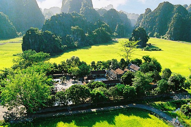 Hoa Lu - Tam Coc Full Day Tour from Hanoi - Buffet Lunch and Cycling Optional