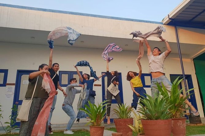 D.I.Y. Tie and Dye workshop, Jaipur