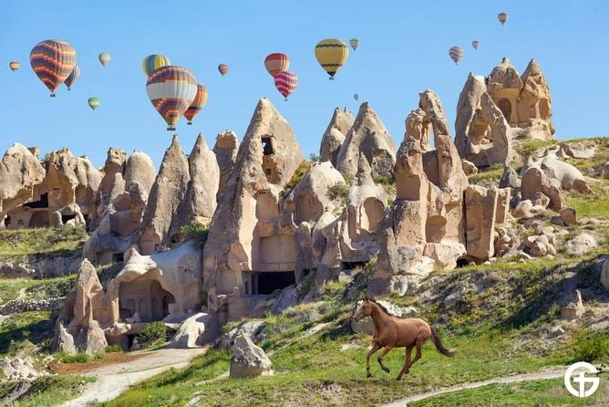 See Magical Places on a Standard Cappadocia Balloon Ride