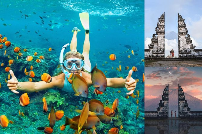 Bali Snorkeling at Blue Lagoon with Gate of Heaven Tour