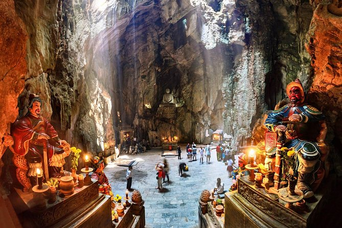 Visit Marble Mountains from Hoi An by Sharing Bus
