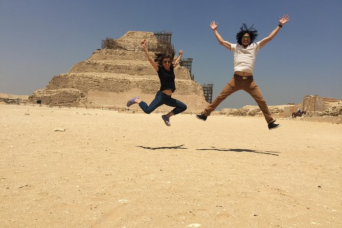 2 Day Private Tour to Giza, Saqqara, Dahshur&Dinner Cruise and Sound, Light Show photo 3
