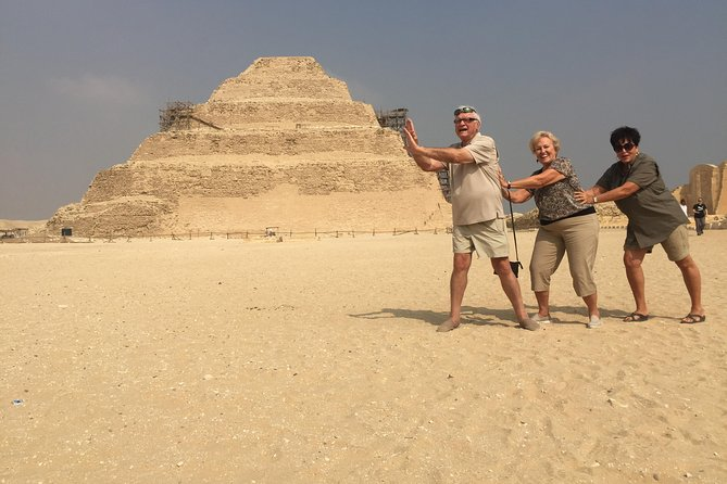 2 Day Private Tour to Giza, Saqqara, Dahshur&Dinner Cruise and Sound, Light Show photo 6