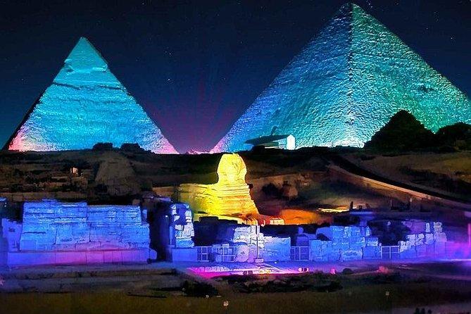 Sound & Light show at the Pyramids Plateau