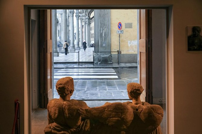 Entrada al Museo Arqueológico de Florencia.