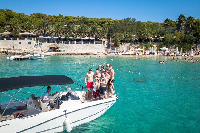 Unique Blue Cave and 5 islands tour from Trogir and Split