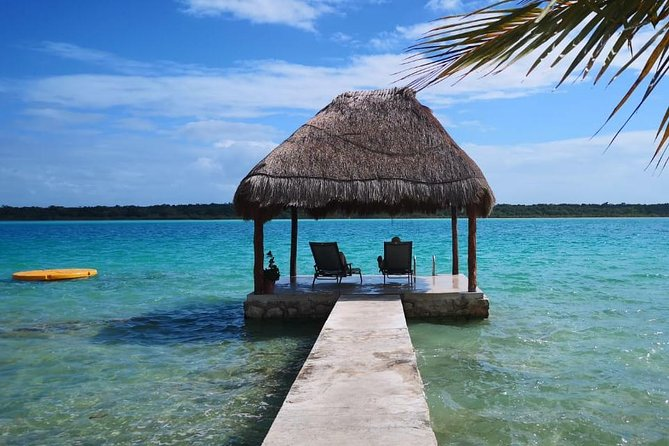One Day Bacalar Seven Color Lagoon Adventure with transportation & Lunch