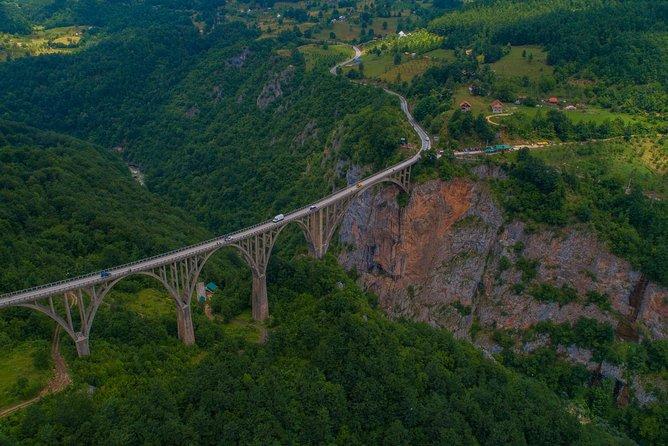 Black Lake and Djurdjevica Tara Bridge