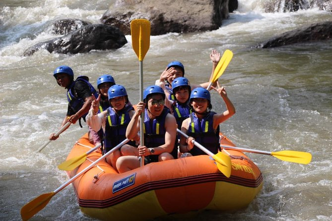 Ayung River White Water Rafting by Sky Swing Bali