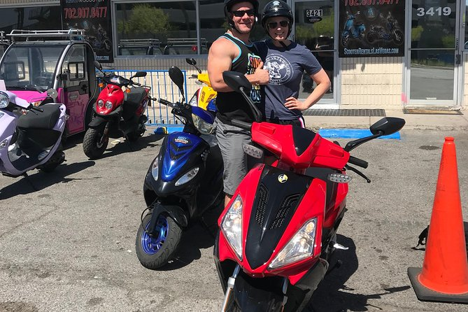 Explore Las Vegas on a 150cc Scooter 3 Hour Rental