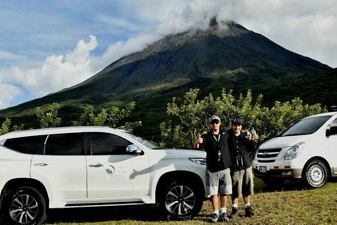 One Way Transfer from La Fortuna/Arenal Volcano to Manuel Antonio/Quepos